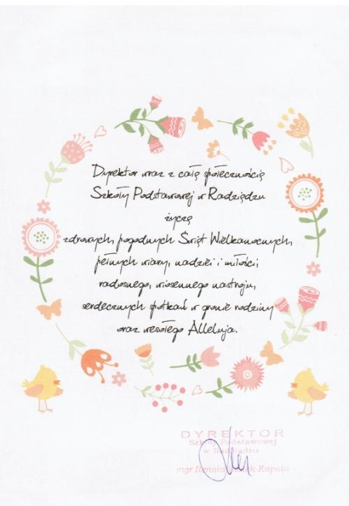 od S. P. Radziądz