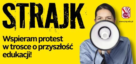 strajk nauczycieli Żmigród